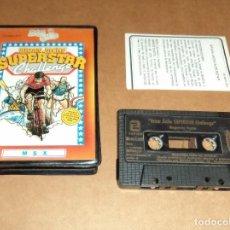 Videojuegos y Consolas: BRIAN JACKS SUPERSTAR CHALLENGE PARA MSX. Lote 124551263