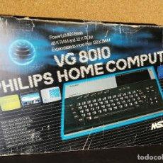 Videojuegos y Consolas: ANTIGUO ORDENADOR VINTAGE PHILIPS MSX VG 8010 EN CAJA. Lote 125911115