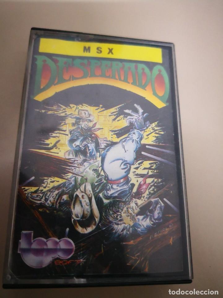 Videojuegos y Consolas: juego consola: DESPERADO - MSX MSX2 CINTA CASETE - Foto 2 - 128588455
