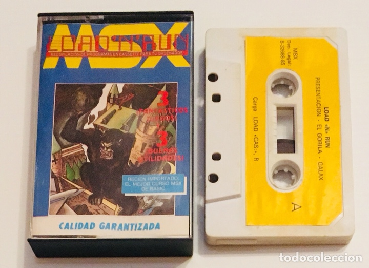 LOAD´N´RUN NUMERO 9 [1985] COMPILACION DE JUEGOS Y APLICACIONES [MSX] (Juguetes - Videojuegos y Consolas - Msx)