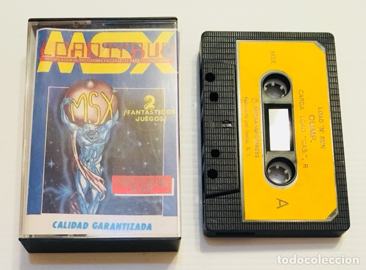 LOAD´N´RUN NUMERO 6 [1985] COMPILACION DE JUEGOS Y APLICACIONES [MSX] (Juguetes - Videojuegos y Consolas - Msx)