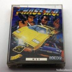Videojuegos y Consolas: MSX - CHASE H.Q. - OCEAN - ERBE - NUEVO - CAJA GRANDE. Lote 129174911