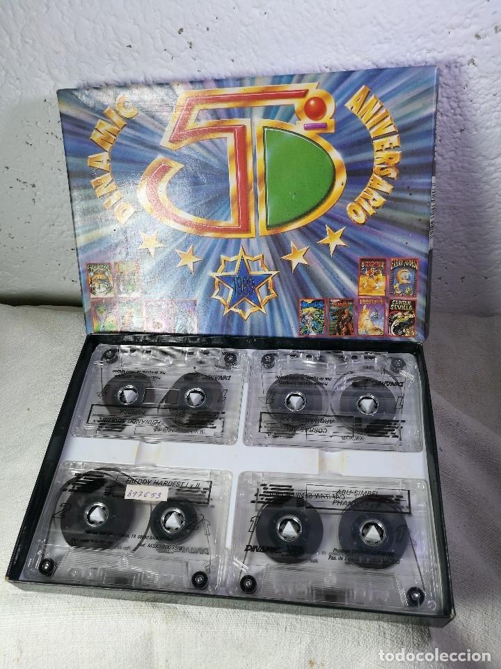 Videojuegos y Consolas: juego para msx dinamic 5º aniversario PACK DINAMIC 5º ANIVERSARIO MSX/MSX2. 20 JUEGOS. 1989 - Foto 2 - 131096568