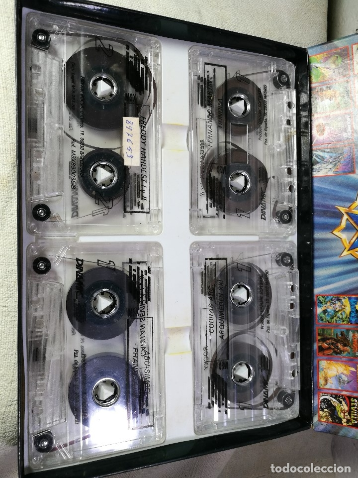 Videojuegos y Consolas: juego para msx dinamic 5º aniversario PACK DINAMIC 5º ANIVERSARIO MSX/MSX2. 20 JUEGOS. 1989 - Foto 3 - 131096568