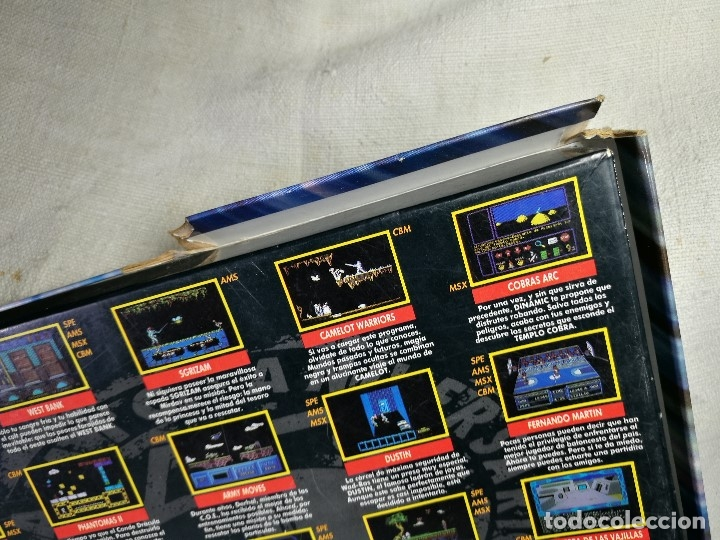 Videojuegos y Consolas: juego para msx dinamic 5º aniversario PACK DINAMIC 5º ANIVERSARIO MSX/MSX2. 20 JUEGOS. 1989 - Foto 9 - 131096568