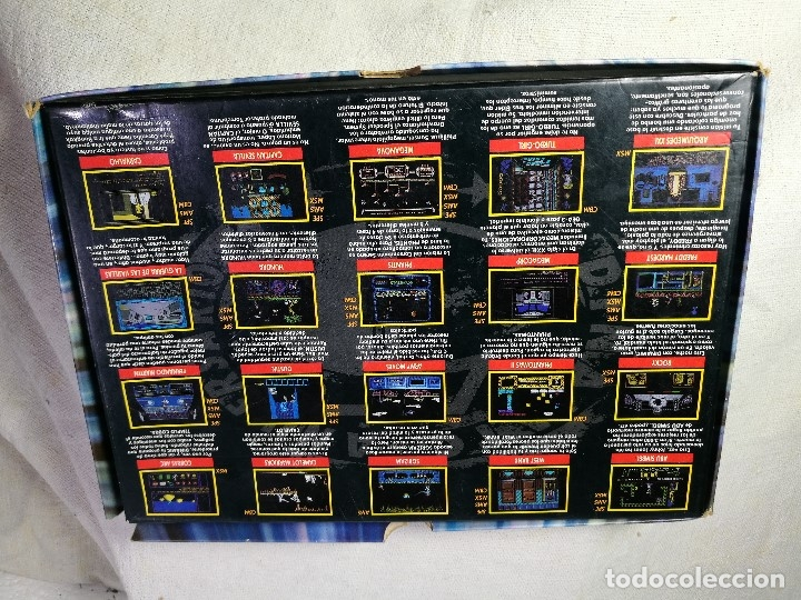 Videojuegos y Consolas: juego para msx dinamic 5º aniversario PACK DINAMIC 5º ANIVERSARIO MSX/MSX2. 20 JUEGOS. 1989 - Foto 10 - 131096568