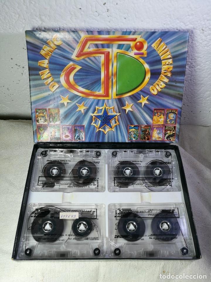 Videojuegos y Consolas: juego para msx dinamic 5º aniversario PACK DINAMIC 5º ANIVERSARIO MSX/MSX2. 20 JUEGOS. 1989 - Foto 12 - 131096568