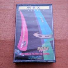 Videojuegos y Consolas: JUEGO CYBERUN MSX PRECINTADO ULTIMATE PLAY THE GAME ERBE SOFTWARE. Lote 135106854