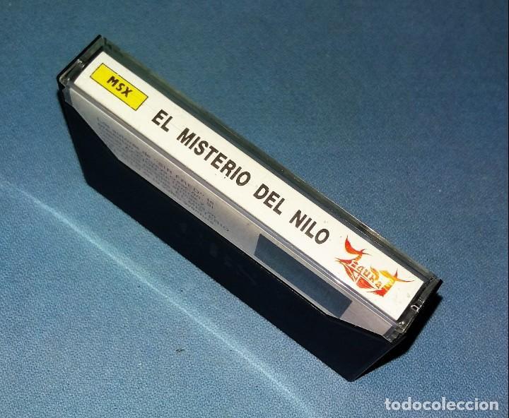 JUEGO EL MISTERIO DEL NILO DE MSX ORIGINAL MUY BUEN ESTADO DE CONSERVACION VER FOTOS Y DESCRIPCION (Juguetes - Videojuegos y Consolas - Msx)