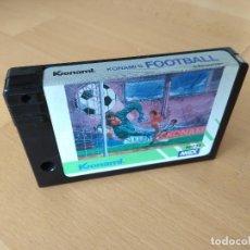 Videojuegos y Consolas: JUEGO CARTUCHO MSX MSX2 KONAMI´S FOOTBALL KONAMI RC732 1985. Lote 136345418