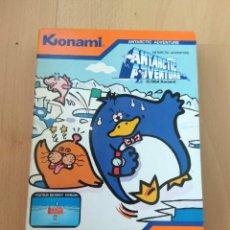Videojuegos y Consolas: JUEGO CARTUCHO MSX MSX2 ANTARCTIC ADVENTURE KONAMI 1984 RC701 MUY BUEN ESTADO. Lote 136346766