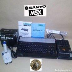Videojuegos y Consolas: ORDENADOR MSX SANYO - MODELO MPC-100 ... SE ENCUENTRA EN BUEN ESTADO - CON ACCESORIOS.. Lote 136675650