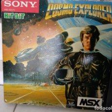 Videojuegos y Consolas: COSMO EXPLORER MSX SONY HIT BIT EN CAJA. Lote 138672870
