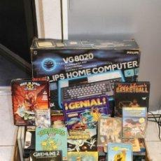 Videojuegos y Consolas: PHILIPS HOME COMPUTER. VG8020. 119 JUEGOS.. Lote 139173366