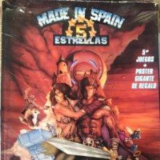 Videojuegos y Consolas: ANTIGUO JUEGO MADE IN SPAIN 5 ESTRELLAS MSX . Lote 144712994