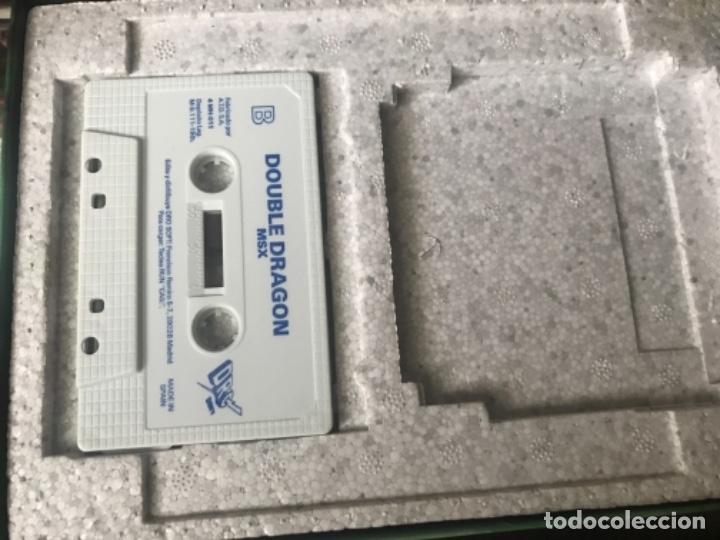 Videojuegos y Consolas: ANTIGUO JUEGO MSX DOUBLE DRAGÓN MELBOURNE HOUSE - Foto 3 - 144773106