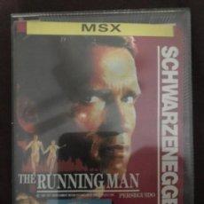 Videojuegos y Consolas: ANTIGUO JUEGO MSX THE RUNNING MAN SCHWARZENEGGER . Lote 144820934