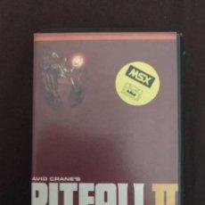Videojuegos y Consolas: ANTIGUO JUEGO MSX PITFALL II LOST CAVERNS ACTIVISION . Lote 144827714