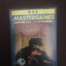 Videojuegos y Consolas: ANTIGUO JUEGO MSX MASTERGAMES HAUNTED HOUSE JOE KOWALSKI. Lote 144956586