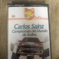 Videojuegos y Consolas: ANTIGUO JUEGO MSX CARLOS SAINZ CAMPEONATO MUNDO RALLIES . Lote 144962662