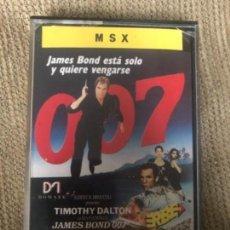 Videojuegos y Consolas: ANTIGUO JUEGO MSX JAMES BOND 007 LICENCIA PARA MATAR. Lote 145077554
