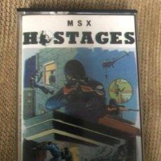 Videojuegos y Consolas: ANTIGUO JUEGO MSX HOSTAGE ERBE . Lote 145078470