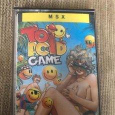 Videojuegos y Consolas: ANTIGUO JUEGO MSX TOI ACID GAME. Lote 145079146