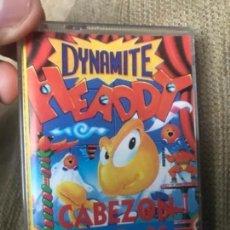 Videojuegos y Consolas: ANTIGUO JUEGO MSX DYNAMITE HEADDY CABEZON MIX . Lote 145086434