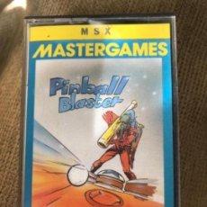 Videojuegos y Consolas: ANTIGUO JUEGO MSX PINBALL BLASTER . Lote 145328190