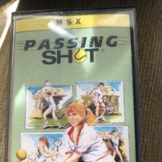 Videojuegos y Consolas: ANTIGUO JUEGO MSX PASSING SHOT . Lote 145328478