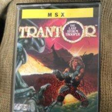 Videojuegos y Consolas: ANTIGUO JUEGO MSX TRANTOR ERBE . Lote 145329558