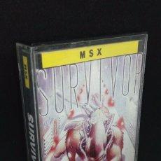 Videojuegos y Consolas: SURVIVOR JUEGO MSX. Lote 145415114