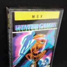 Videojuegos y Consolas: WINTER GAMES JUEGO MSX. Lote 145416114
