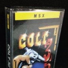Videojuegos y Consolas: COLT 36 JUEGO MSX. Lote 145416354