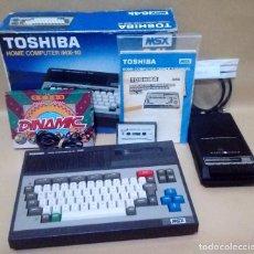 Videojuegos y Consolas: ORDENADOR MSX *TOSHIBA HOME COMPUTER HX-10 MSX* COMPLETO Y EN BUEN ESTADO.. Lote 146646602