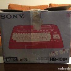 Videojuegos y Consolas: IMPOSIBLE ORDENADOR MSX SONY HB-101P EN SU CAJA SIN USO ALUCINANTE. Lote 147391514