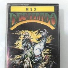 Videojuegos y Consolas: DESPERADO TOPO - MSX 1987. Lote 149518586