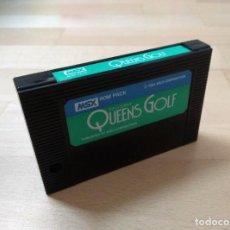 Videojuegos y Consolas: CARTUCHO MSX MSX2 QUEEN´S GOLF ASCII 1984 BUEN ESTADO FUNCIONANDO PERFECTO. Lote 150726454