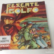 Videojuegos y Consolas: RESCATE EN EL GOLFO MSX . OPERA SOFT. Lote 151496778