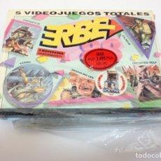 Videojuegos y Consolas: ERBE 88 - PACK DE 5 JUEGOS - NUEVO Y PRECINTADO - MSX - CASSETTE. Lote 151566798