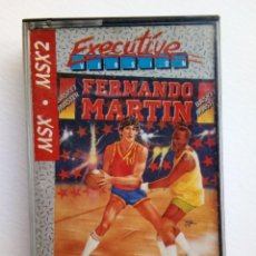 Videojuegos y Consolas: JUEGO MSX - FERNANDO MARTIN - BASKET MASTER. Lote 151597542