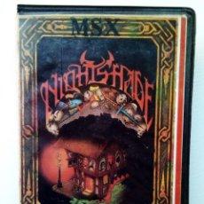 Videojuegos y Consolas: JUEGO MSX - NIGHTSHADE. Lote 151599154