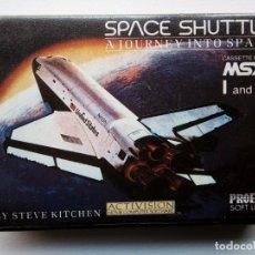 Videojuegos y Consolas: JUEGO MSX - SPACE SHUTTLE - UN VIAJE AL ESPACIO. Lote 151616418