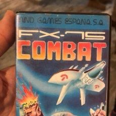 Videojuegos y Consolas: FX-15 COMBAT - MSX - MIND GAME 1987 - SOFTWARE ESPAÑOL - RARO. Lote 151638174