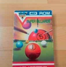 Videojuegos y Consolas: JUEGO MSX MSX2 SUPER BILLIARDS HAL LABORATORY 1983 BUEN ESTADO FUNCIONANDO PERFECTAMENTE. Lote 152253498