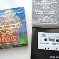 Videojuegos y Consolas: SIMULADOR PROFESIONAL DE TENIS - DINAMIC 1990 - MSX MSX2 - JUEGO COMPLETO EN EXCELENTE ESTADO. Lote 152374270