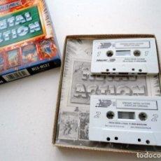 Videojuegos y Consolas: METAL ACTION - DINAMIC 1990 - MSX MSX2 - JUEGO COMPLETO EN EXCELENTE ESTADO. Lote 152374846