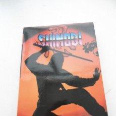 Videojuegos y Consolas: SHINOBI - DRO SOFT 1989 - MSX - JUEGO EN MUY BUEN ESTADO. Lote 152375490