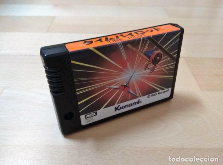 JUEGO MSX MSX2 TIME PILOT KONAMI 1983 VERSIÓN JAPÓN CART BUEN ESTADO FUNCIONANDO PERFECTAMENTE (Juguetes - Videojuegos y Consolas - Msx)