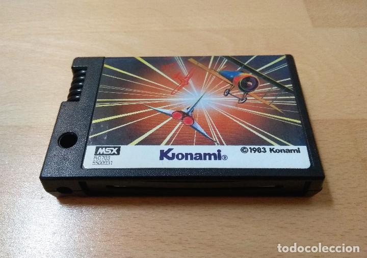 Videojuegos y Consolas: JUEGO MSX MSX2 TIME PILOT KONAMI 1983 VERSIÓN JAPÓN CART BUEN ESTADO FUNCIONANDO PERFECTAMENTE - Foto 2 - 152404030